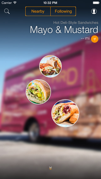 Curbsidr – Curbside gourmet via your mobile phone.