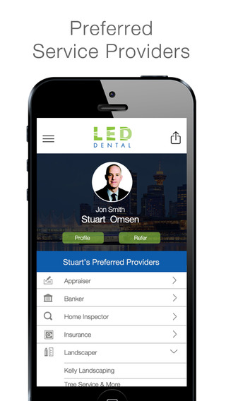 LED Dental Service Providers