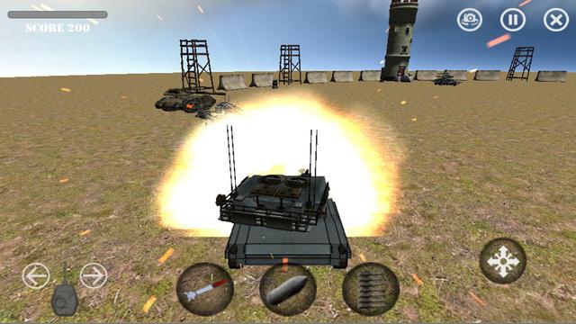 Battle of Tanks 3D : Reloaded - PRO