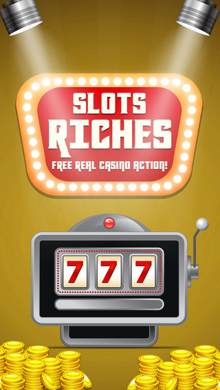Slots Riches FREE real casino action