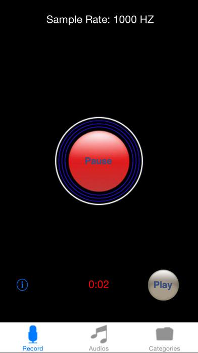iRecord iPhone Screenshot 1