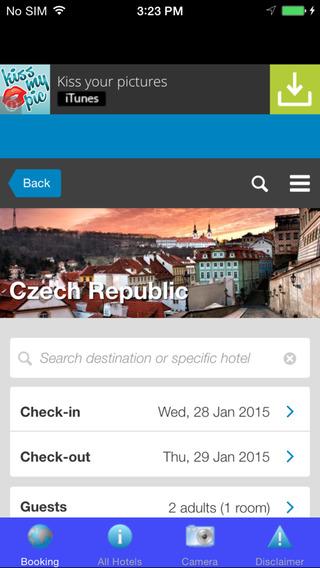 Czech Republic Hotel ah hoy