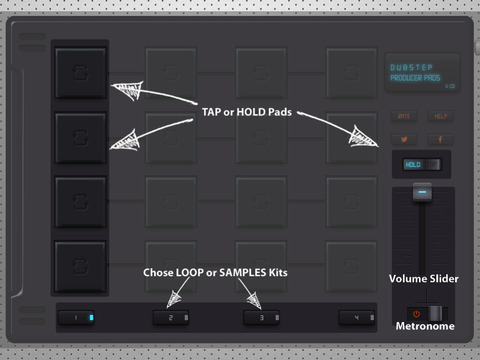 Dubstep Producer Pads screenshot