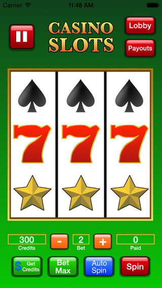 Ace Casino Slots - The excitement of Vegas now on your iPhone or iPad