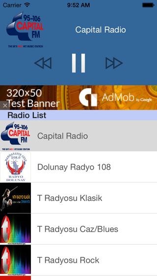 Radyo Türkiye - Türk FM radyolar Tüm Mobile 100 Be