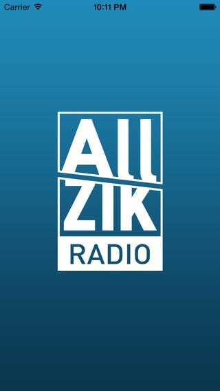 Avec l'appli ALLZIKRADIO écoutez en live les radios ALLZIK. Pas de pub et son HQ