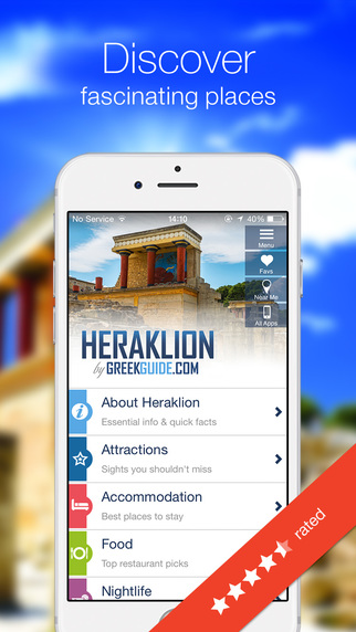 HERAKLION by GREEKGUIDE.COM offline travel guide