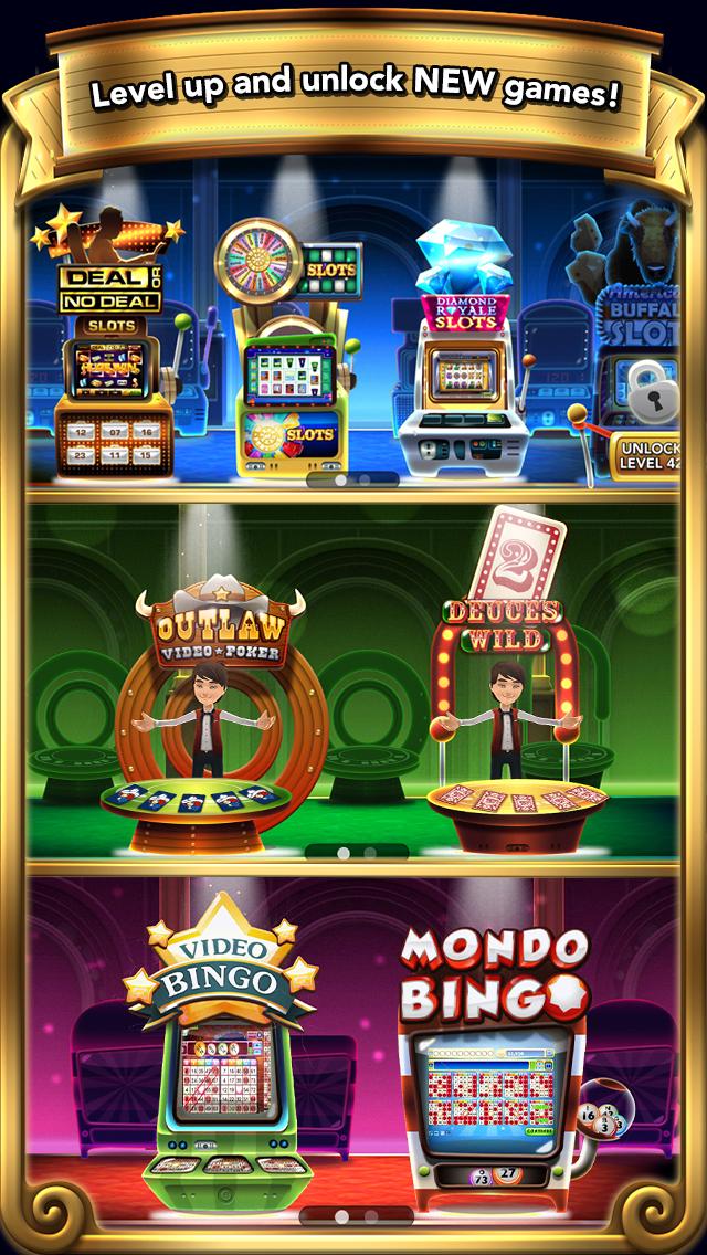 GSN Grand Casino – Play Free Slots, Bingo, Video Poker and more!
