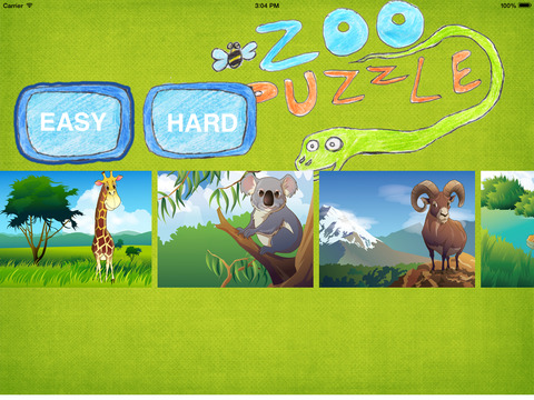 Zoo Puzzles for children