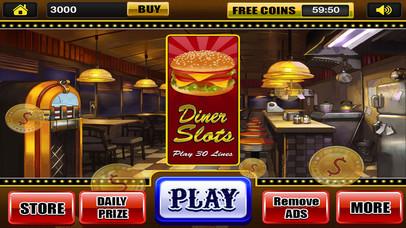 Screenshot 2 Гранд Делюкс слоты Diner Казино тире игры для свободного скачивания
