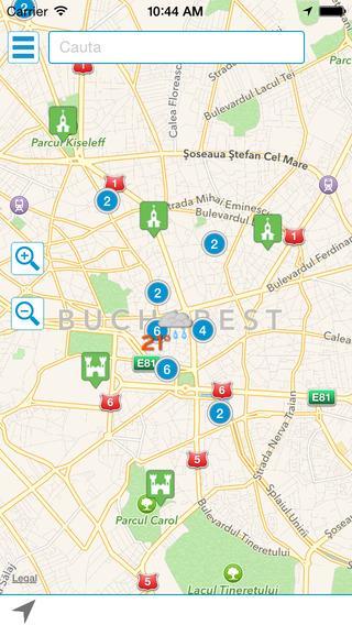 Harta CeSaVezi în România