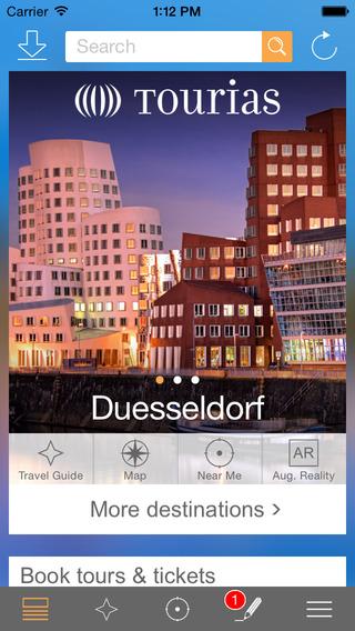 Düsseldorf Travel Guide - TOURIAS Travel Guide free offline maps