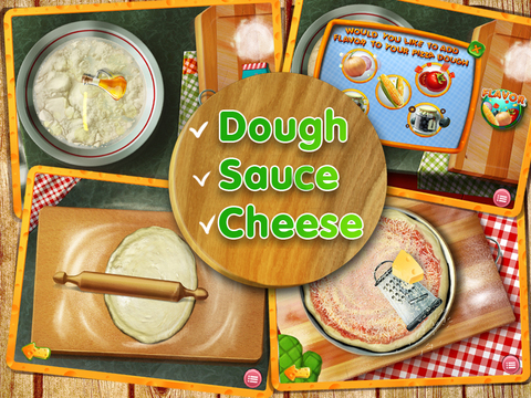 Pizza Crazy Chef - Make, Eat and Deliver Pizzas with Over 100 Toppings! для iPad