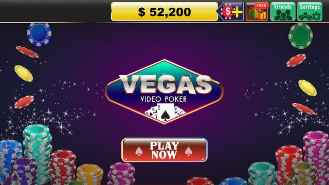Free Coins Vegas Video Poker Casino Game