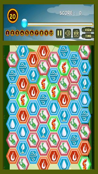 Four Elements Legend Blitz - Jewel Puzzle Match- Free