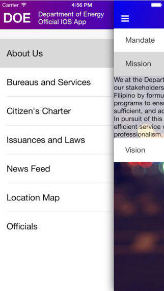 DOE Official App