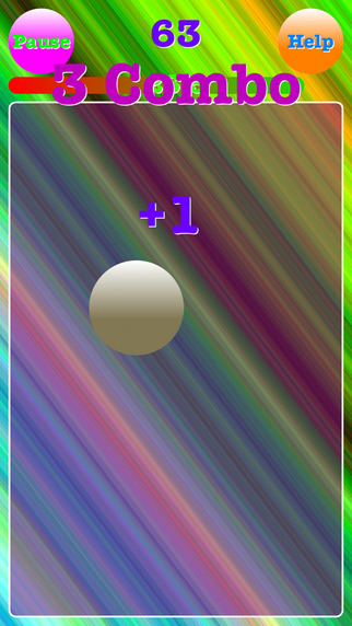 Ball Tapper-How many times can you tap it? Games free for iPhone/iPad screenshot