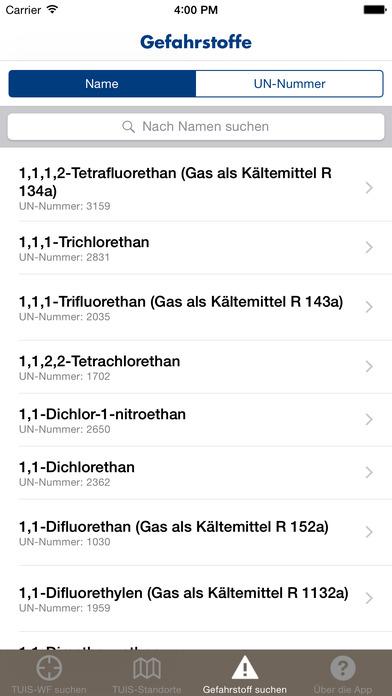 TUIS iPhone Screenshot 3
