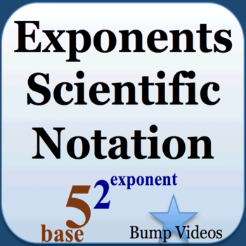 Exponents and Scientific Notation LOGO-APP點子