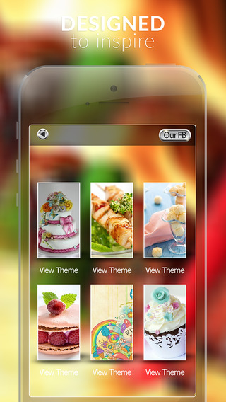 Food and Drink Gallery HD Retina Wallpaper Themes and Backgrounds Pro