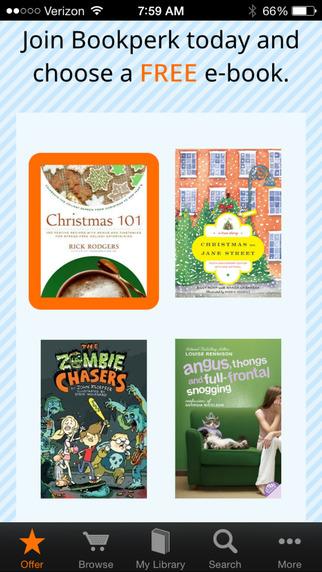 Bookperk daily e-book deals