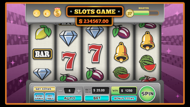 Casino Slots Game - FREE with Bonus Card Game