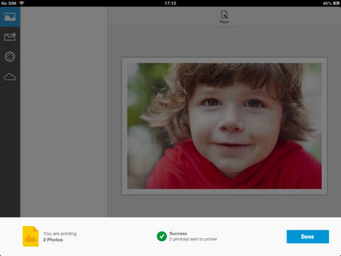 HP iPrint Photo 3.0 iPad Screenshot 5