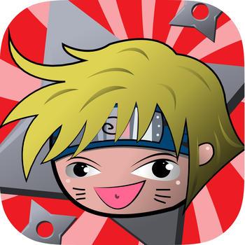 Naru Naru Guessing : Naruto Edition Manga Characters Series Quiz Game Free LOGO-APP點子