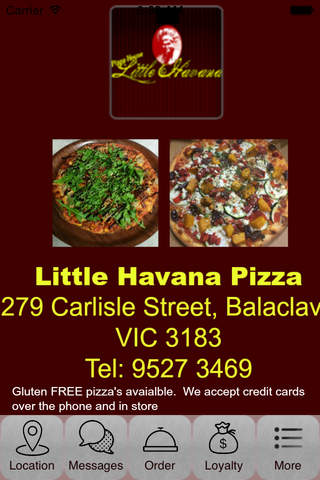 Little Havana Pizza screenshot 1
