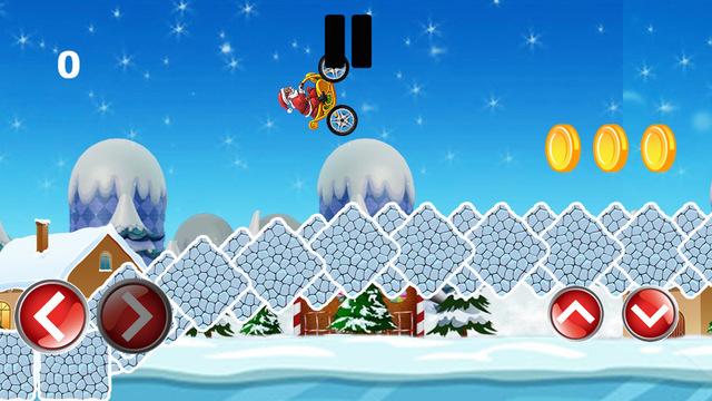 Santa on the Bike