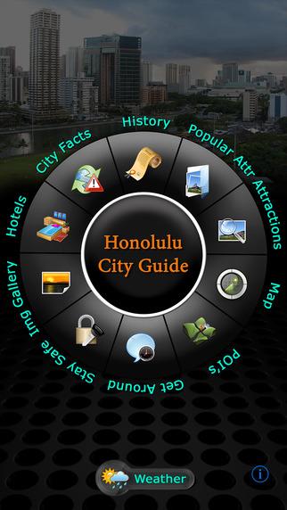 Honolulu Offline Map Travel Guide