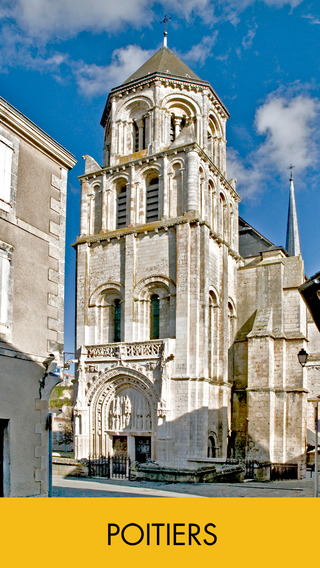 Audio guide of Poitiers