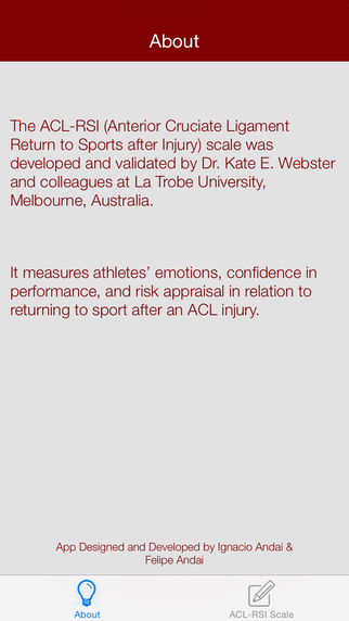 ACL RSI