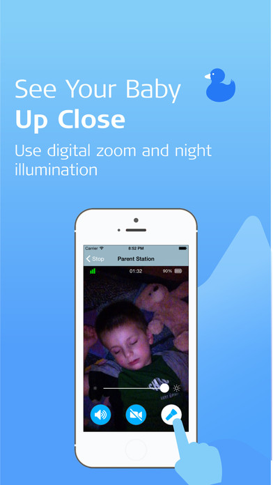 sound sleeper wifi video baby monitor on the app store. Black Bedroom Furniture Sets. Home Design Ideas