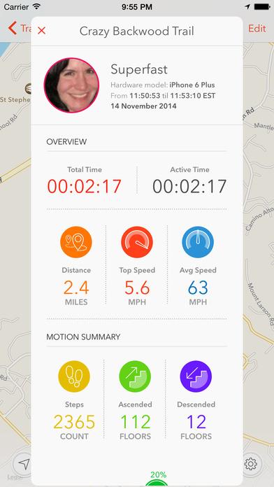 Speed Tracker iPhone Screenshot 3