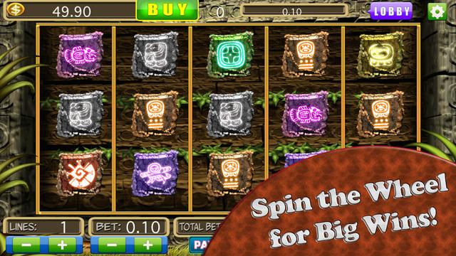 A Mayan Temple Slots Machine Casino : Las Vegas Gold Coin Run Showdown Adventure 2 Pro