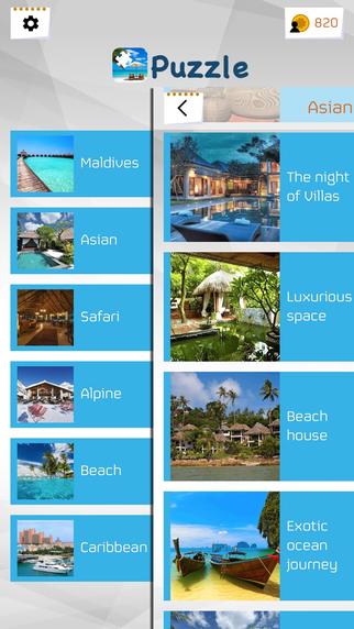 玩免費遊戲APP|下載Resort Jigsaw Puzzles app不用錢|硬是要APP