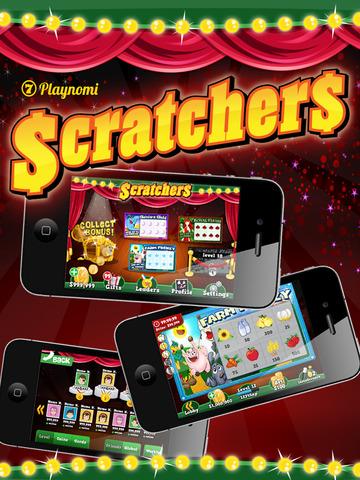Scratchers Scratch Off Blitz Casino Game screenshot