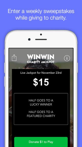 WinWin Charity Jackpot