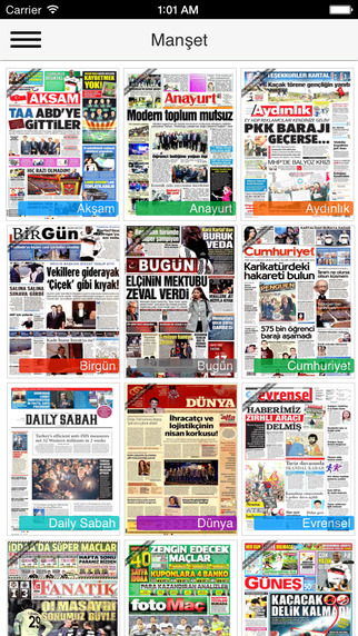 Manşet - 30+ Turkish 10+ World Class Newspapers' front pages