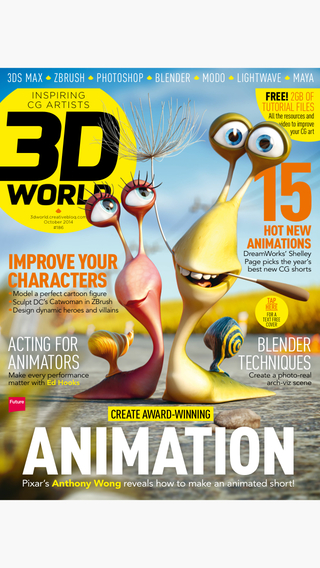3D World: the CG magazine for animation VFX and games artists