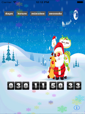 Christmas Countdown Extreme Edition - The Best Countdown App Santa Approved-ipad-2