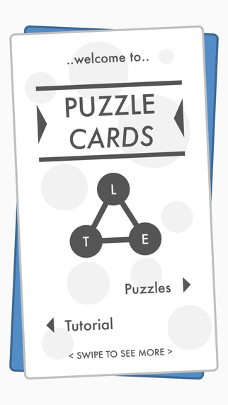Puzzle Cards