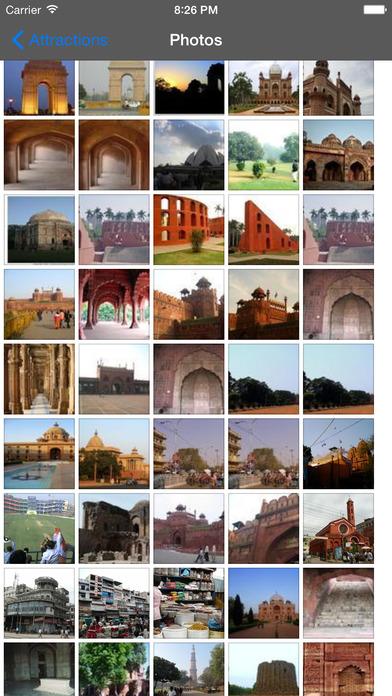 New Delhi Travel Guide Offline iPhone Screenshot 2