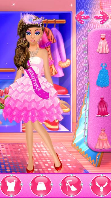 Dress up games for girls kids free fun beauty salon with Beauty avenue fashion style fun