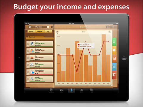 Money for iPad Screenshots