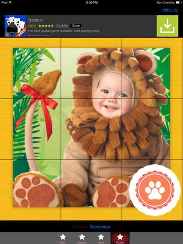 Baby Zoo Animal HD Photo Montage FREE