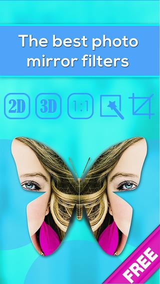 Photo-Mirror Image Free Twin cam-era pics editing to split-pic