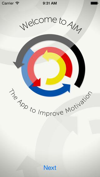 AiM-App to Improve Motivation