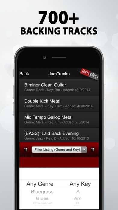 JamPlay Guitar Pack iPhone Screenshot 3